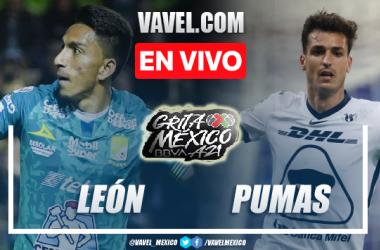 Goles y resumen del León 1-2 Pumas en Apertura 2021