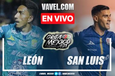 Resumen del León 0-0 San Luis en la Liga MX Apertura 2021