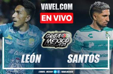 Goles y resumen del León 1-1 Santos Laguna en Liga MX 2021