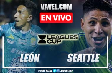 León vs Seattle Sounders EN VIVO: ¿cómo ver transmisión TV online en Leagues Cup?