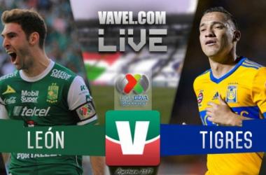 Tigres vsClub León en Liga MX 2017 (1-1) Global (2-2)