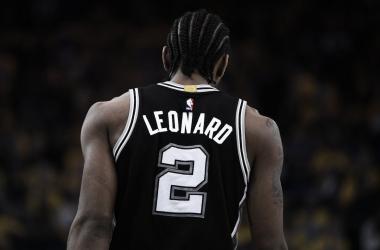 A Kawhi Leonard no le faltan pretendientes si abandona San Antonio   Foto: NBA.com