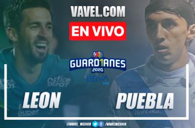 Resumen y goles: León 2-0 Puebla en Liga MX 2020
