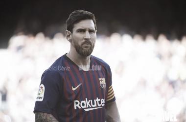 Messi, ante su víctima favorita   Foto: Noelia Déniz (VAVEL.com)