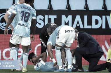 Renato Tapia, uno de los cuatro lesionados en la victoria frente al Levante / Foto: rccelta.es
