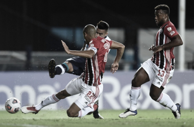 Maratona de jogos prejudica o São Paulo a estudar seus oponentes (Foto: Divulgação/SPFC)