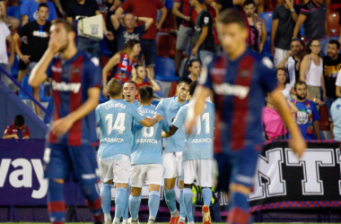 Celta de Vigo vs Levante UD EN VIVO y en directo online en LaLiga Santander