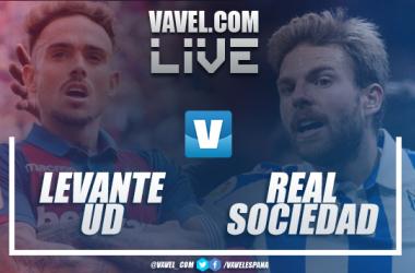 Resumen Levante UD vs Real Sociedad en LaLiga Santander (1-3)