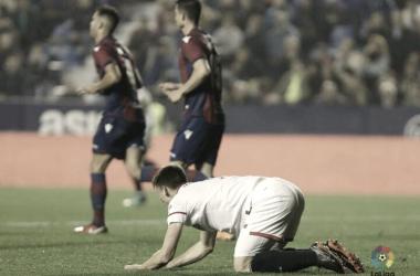 El Sevilla no logra levantar cabeza