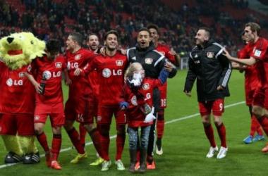 El Bayer Leverkusen llega lanzado