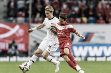 Leverkusen sonríe por segunda vez en la temporada