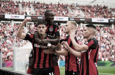 Arrollador triunfo de Leverkusen en casa