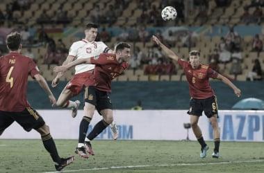 Espanha 1 a 1 Polônia (UEFA / Divulgação)