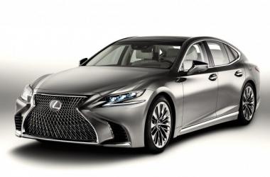 Nuevo Lexus LS: alto standing japonés