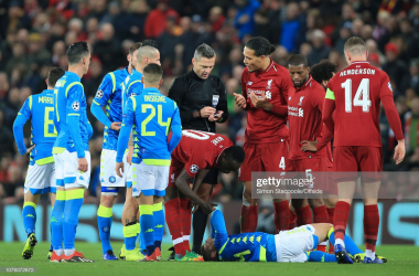 Liverpool and Napoli played each other twice in the Champions League group stage last season, winning a game each (Getty Images: Simon Stacpoole/Offside)