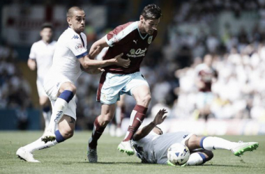 Leeds United 1-1 Burnley: Vokes strikes late to claim a share of the spoils
