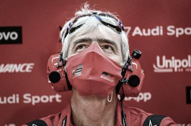 Gigi Dall'Igna, director general de Ducati Corse / Fuente: MotoGP