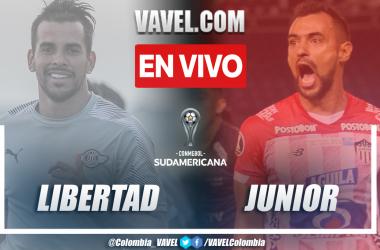 Resumen y goles: Libertad (0-1) Junior en los octavos de final (vuelta) por la Copa Sudamericana 2021