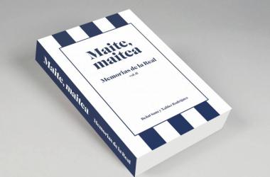 Portada del libro 'Maite, maite - Memorias de la Real vol.II'. Foto: Xabier Rodríguez y Beñat Sanz