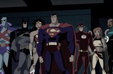 Miembros fundadores de la Liga de la justicia y protagonistas de todas las temporadas.Fotografía de Posts y noticias