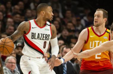 Portland lucha por los playoffs bajo la batuta de Lillard