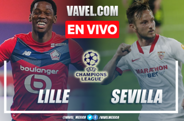 Resumen y mejores momentos del Lille 0-0 Sevilla en Champions League 2021
