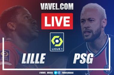 Melhores momentos de Lille x PSG na Ligue 1 (0-0)