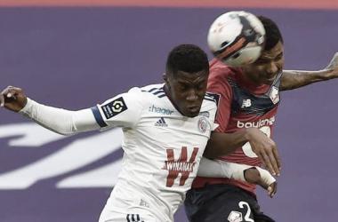 Lille 1 a 1 Strasbourg (Ligue 1 / Divulgação)