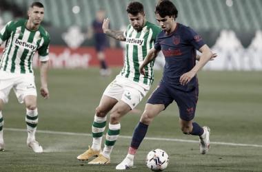 Joao Félix ha sido hoy protagonista tras retirarse lesionado. / Fuente: Atlético de Madrid