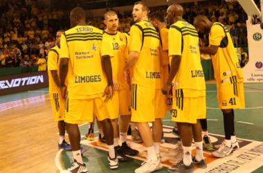 Les joueurs de Limoges prêts pour la 3e journée d'Euroleague