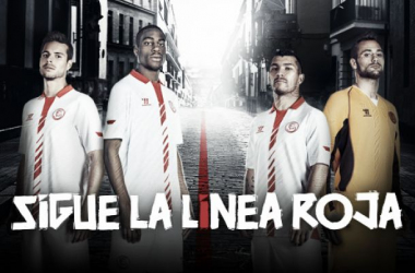A «linha vermelha» já chegou à final da Liga Europa (Foto: Sevilha FC)