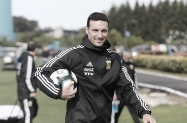 NUEVA ILUSIÓN EN JUNIO. Scaloni, se lo está mostrando ilusionado de cara a la Copa América. Foto: Web