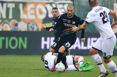 Litteri, autore del primo gol- Credits: twitter.com/VeneziaFC