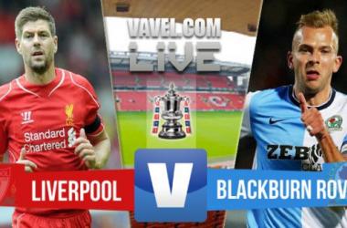 Resultado Liverpool - Blackburn Rovers en la FA Cup 2015 (0-0)