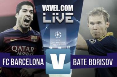 Resultado del Barcelona - BATE Borisov en Champions League 2015 (3-0)