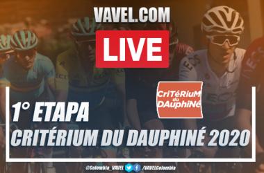 Resumen etapa 1 del Critérium du Dauphiné entre Clermont Ferrand y Saint-Christo-en-Jarez