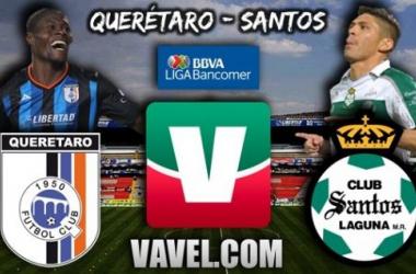 Resultado Querétaro - Santos en Liga MX 2013 (2-3)