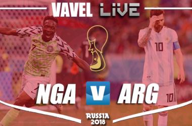 Partita Nigeria 1-2 Argentina in Mondiali Russia 2018: Rojo manda l'Albiceleste agli ottavi!