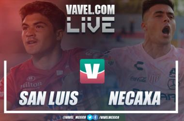 Resultado y goles del partido Atlético de San Luis 0-2 Necaxa en Copa MX 2019