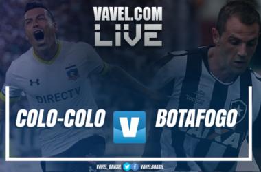 Resultado Colo-Colo x Botafogo na Libertadores 2017 (1-1)
