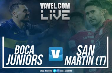 Boca Juniors vs San Martín de Tucumán | Foto: VAVEL