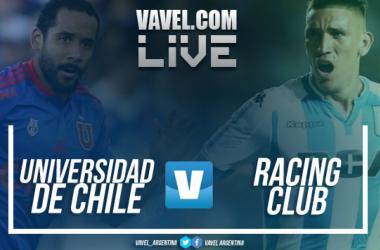 Resumen Universidad de Chile 1-1 Racing en Conmebol Libertadores 2018