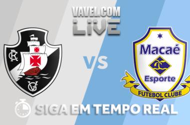 Resultado Vasco 1x1 Macaé pela Taça Rio 2018