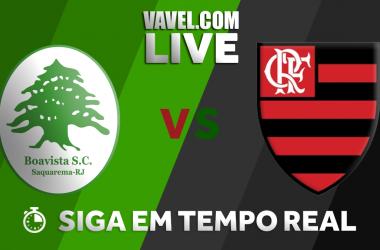 Resultado Boavista x Flamengo na final Campeonato Carioca 2018 (0-2)