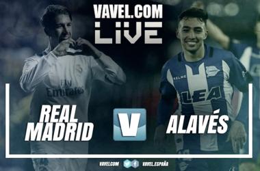 El Real Madrid pasa por encima del Alavés