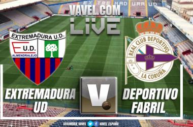 Extremadura U.D. – Deportivo Fabril