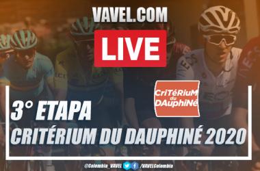 Resumen etapa 3 del Critérium du Dauphiné entre Corenc y Saint-Martin-de-Belleville