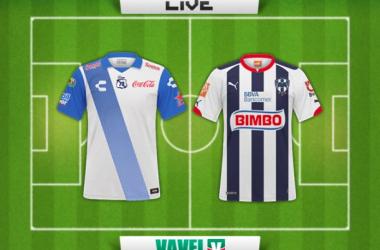 Resultado Puebla - Rayados de Monterrey en la Copa MX 2015 (3-0)