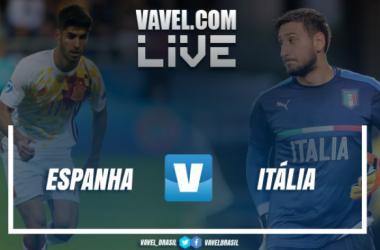Jogo Espanha x Itália na semifinal da Euro Sub-21 (3-1)
