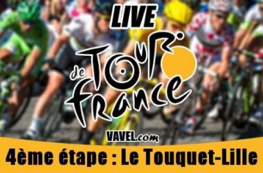 Live Tour de France 2014, la 4ème étape (Le Touquet - Lille) en direct